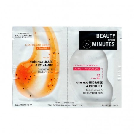 beauty minutes esfoliante expert + maschera repulp