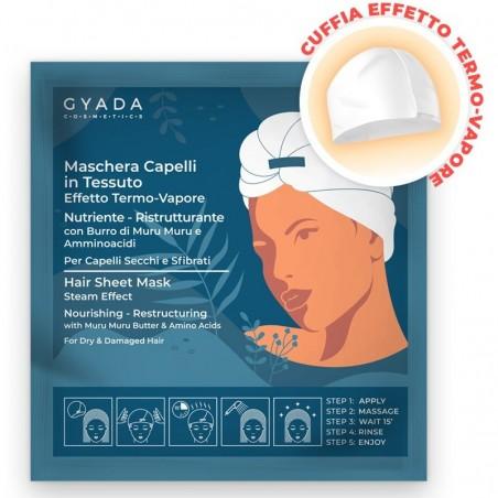 maschera capelli in tessuto n.1 - nutriente e ristrutturante