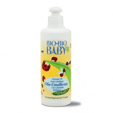 olio emolliente bio bio baby