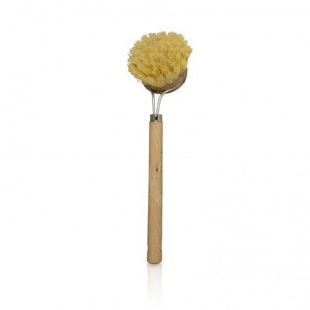 spazzola per piatti con manico