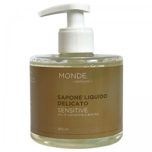 MondeVert Sapone liquido delicato sensitive alla camomilla