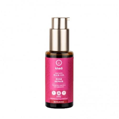 rose repair - olio per capelli ayurvedico