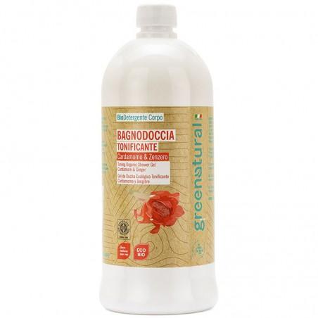 bagnodoccia tonificante cardamomo e zenzero - 1 Litro