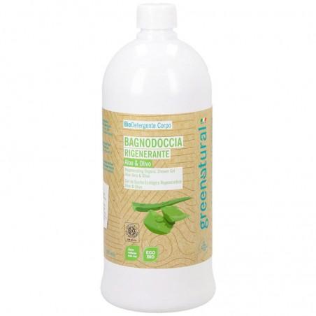 bagnodoccia rigenerante aloe e olivo - 1 Litro