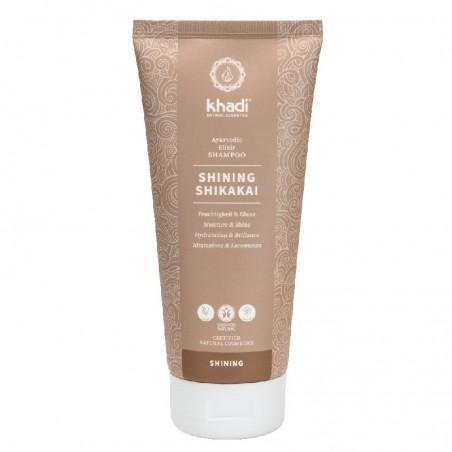 shampoo shining shikakai - elisir ayurvedico