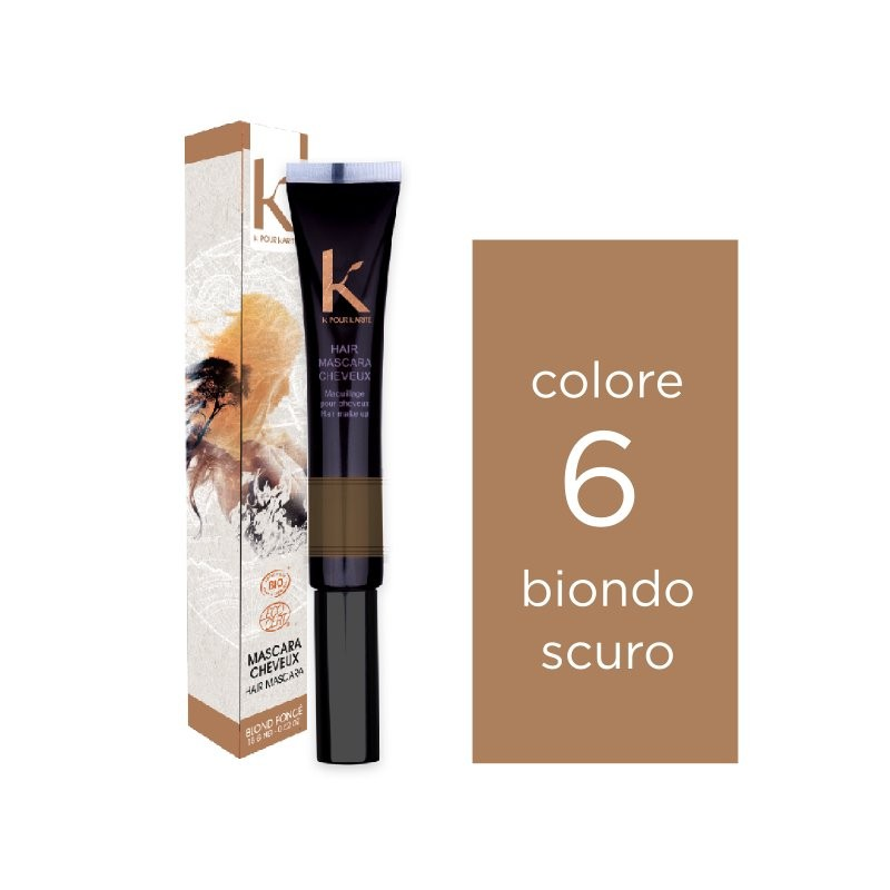 K pour karité Mascara per capelli n. 6 biondo scuro
