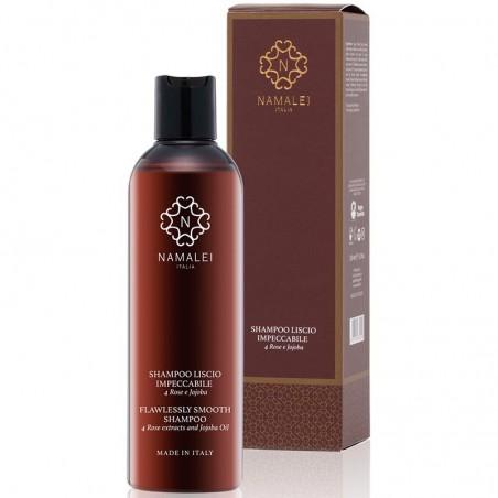 shampoo liscio impeccabile alle 4 rose e jojoba