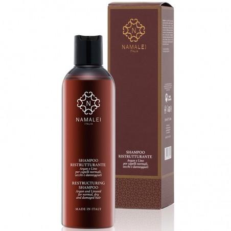 shampoo ristrutturante argan e lino