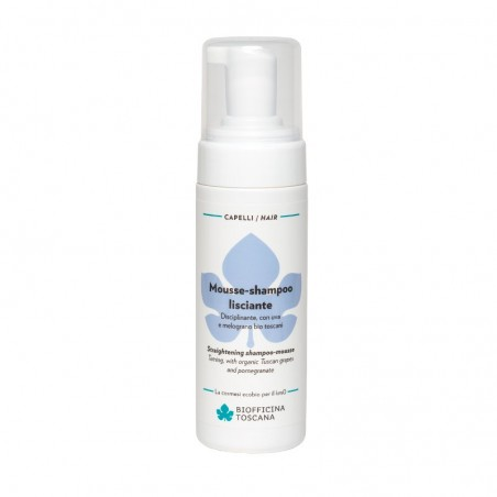 mousse-shampoo lisciante