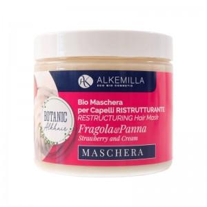 Alkemilla Maschera per capelli ristrutturante fragola e panna - Mondevert shop online