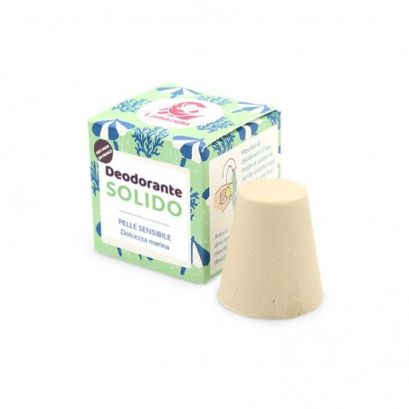 deodorante solido pelle sensibile dolcezza marina