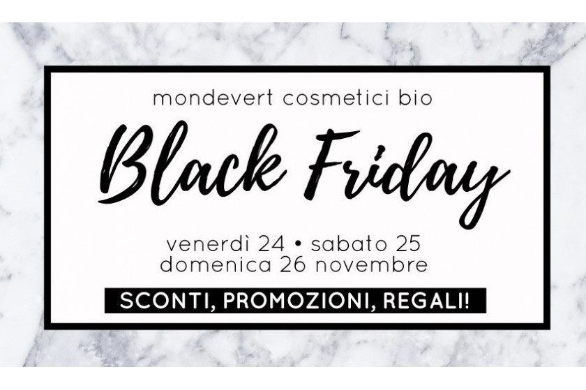 Black Friday 2017 MondeVert: offerte e coupon sconto!