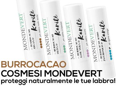 I nuovi Burrocacao Mondevert!