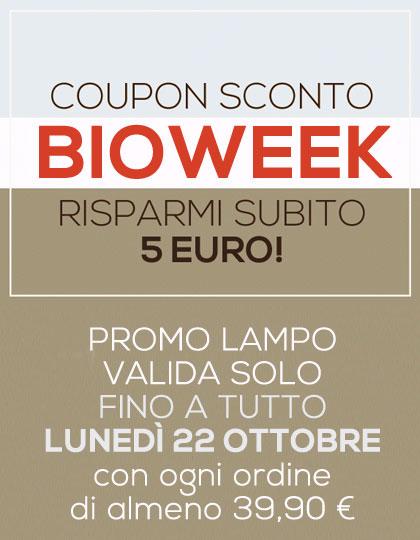 Promo lampo risparmia 5 euro