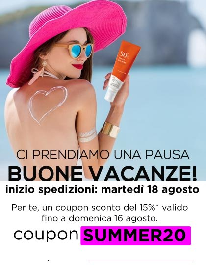Buone vascanze: coupon -15%